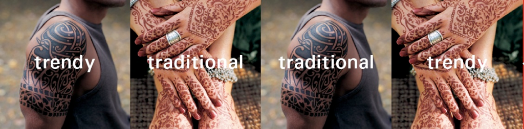 Trendy-traditional